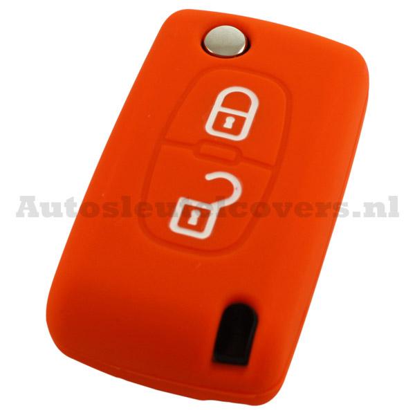 Citroën sleutelcover kleur oranje