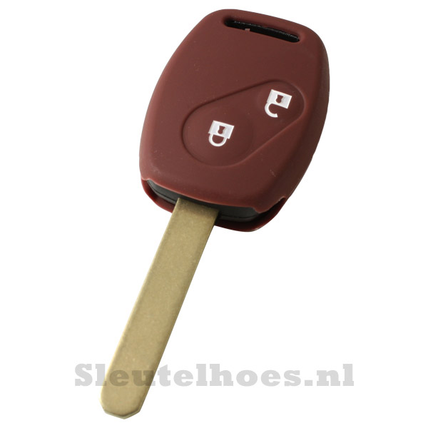 Honda - 2 knops sleutelbehuizing bruin
