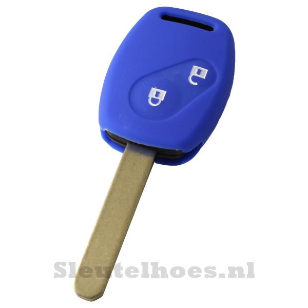 Honda - 2 knop sleutelbehuizing donkerblauw