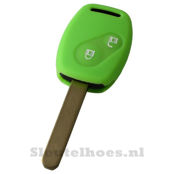 Honda - 2 knop sleutelbehuizing groen