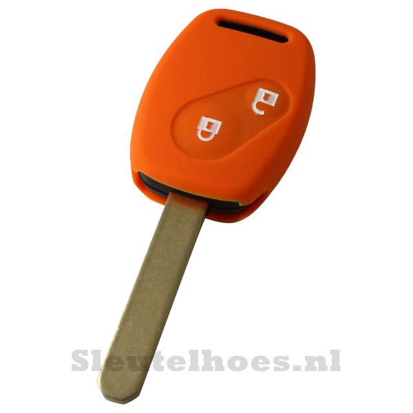 Honda - 2 knop sleutelbehuizing oranje