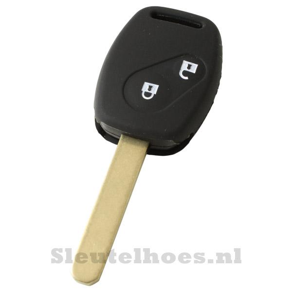 Honda - 2 knop sleutelbehuizing zwart